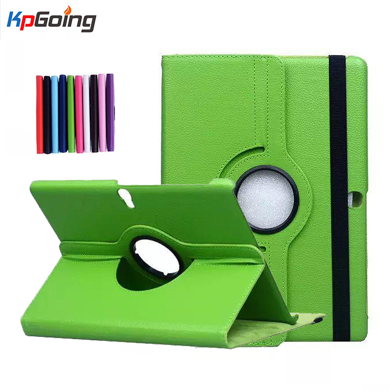 Para samsung galaxy tab s 10.5 t800 tablet litchi pu leather case - Acessórios tablet