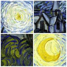 Starry Night Vincent by Vincent Van Gogh Handpainted