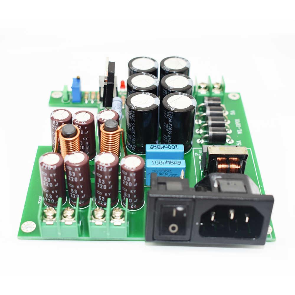 Lusya 3-filtrów etapowych 50W DC zasilaczem DC12V do aktualizacji głośnik audio oraz związany z nimi sprzęt NAS CAS PC HiFi A8-009