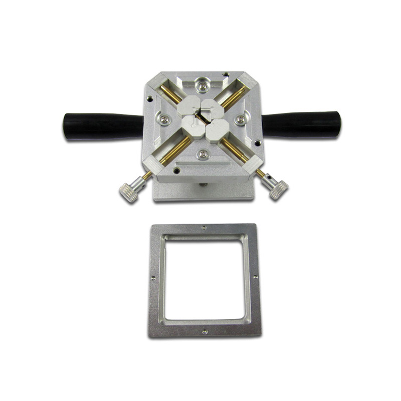 90x90MM BGA Reballing Station Dual Direction Position self-locking 90MM BGA Stencils Fixture Jig bga reballing rework station with hand grip for 90x90mm stencils templates new