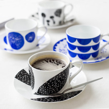 Creative European Bone China Coffee Mug Afternoon Tea Set Cup Dish