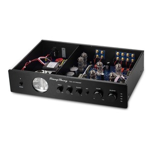 Image 4 - Nobsound Latest High End Vacuum 12AT7 12AU7 Tube Pre Amplifier Stereo Hi Fi Desktop Audio Preamp