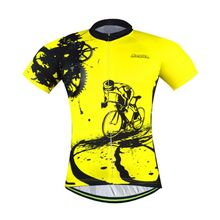 check price Men's / Women's Retro Cycling Jersey Short Sleeve Race Fit  Mountain Bike Bicycle Jersey Reflective Cycling Shirts S-5XL Sale Best Quality
