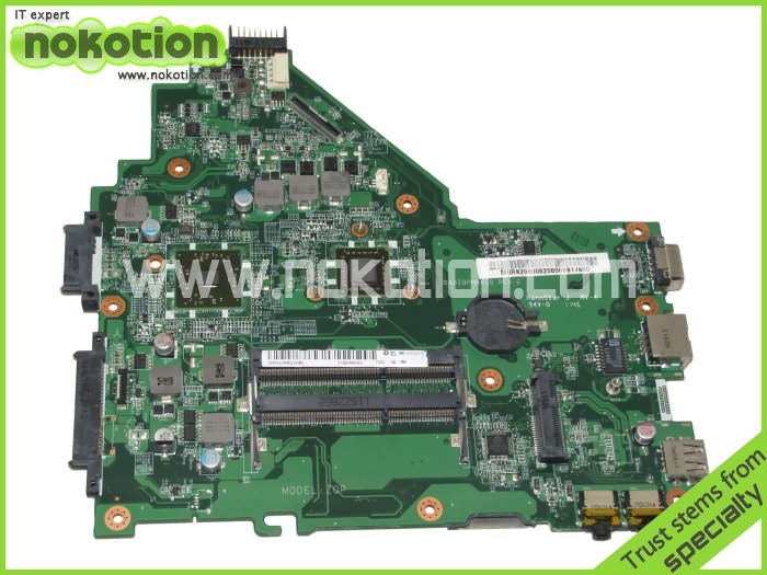 NOKOTION Laptop Motherboard for Acer aspire 4520 MBRK206006 DA0ZQPMB6C0 E450 cpu DDR3 Mainboard Mother boards laptop motherboard fit for acer aspire 3820 3820t notebook pc mainboard hm55 48 4hl01 031 48 4hl01 03m