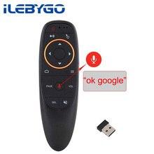 ILebygo G10 голосовой пульт дистанционного управления 2,4G Беспроводная воздушная мышь микрофон гироскоп ИК обучение для Android tv box T9 H96 Max X96 mini
