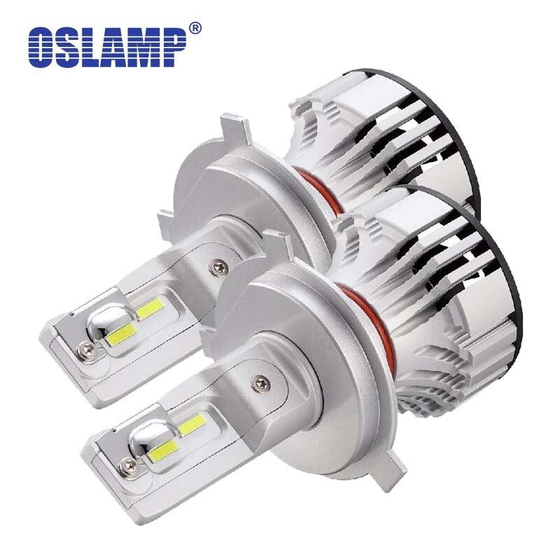 Oslamp Voiture LED H4 Phare Ampoules 72 w 6000LM 6500 k H4/9003/HB2 Led Voiture Ampoules Tous Les -en-Un pour MERCEDES-BENZ/Solara/T100/Tacoma