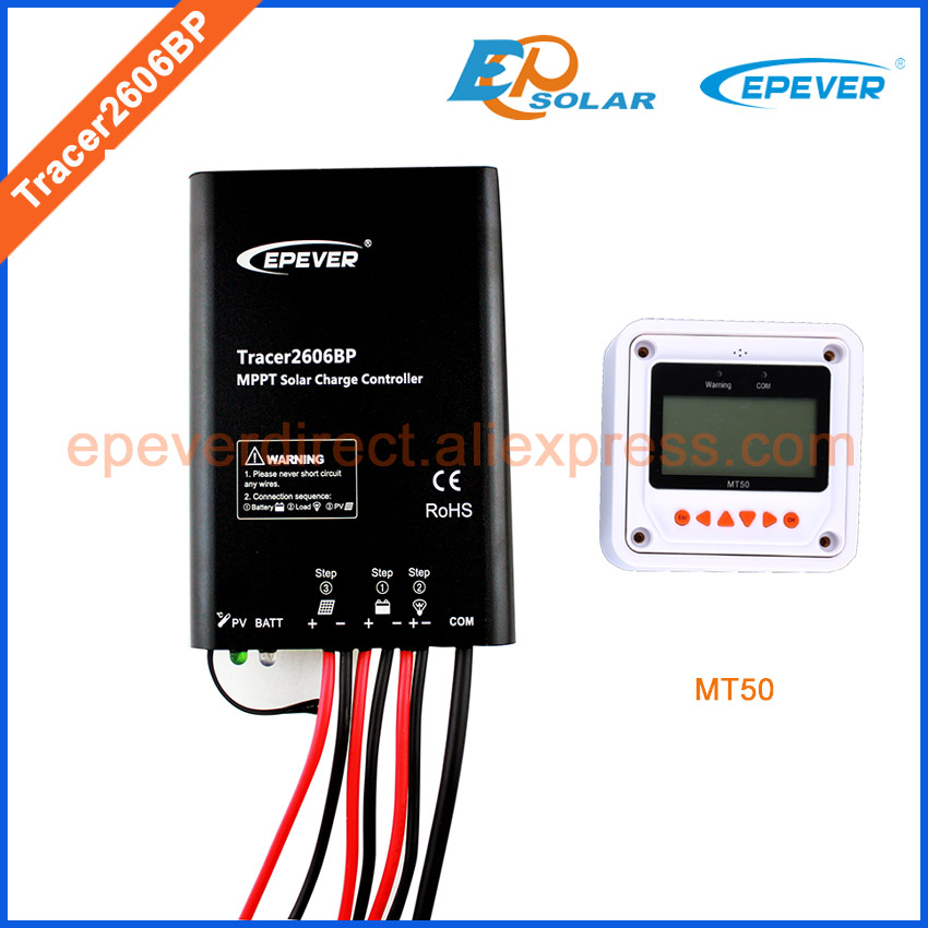 Tracer2606BP EPEVER New product,10A solar controller with MT50,MT50 not apply to lithium battery Free Shipping to Korea free shipping l78s12cv l78s12 to 220ab regulator original product