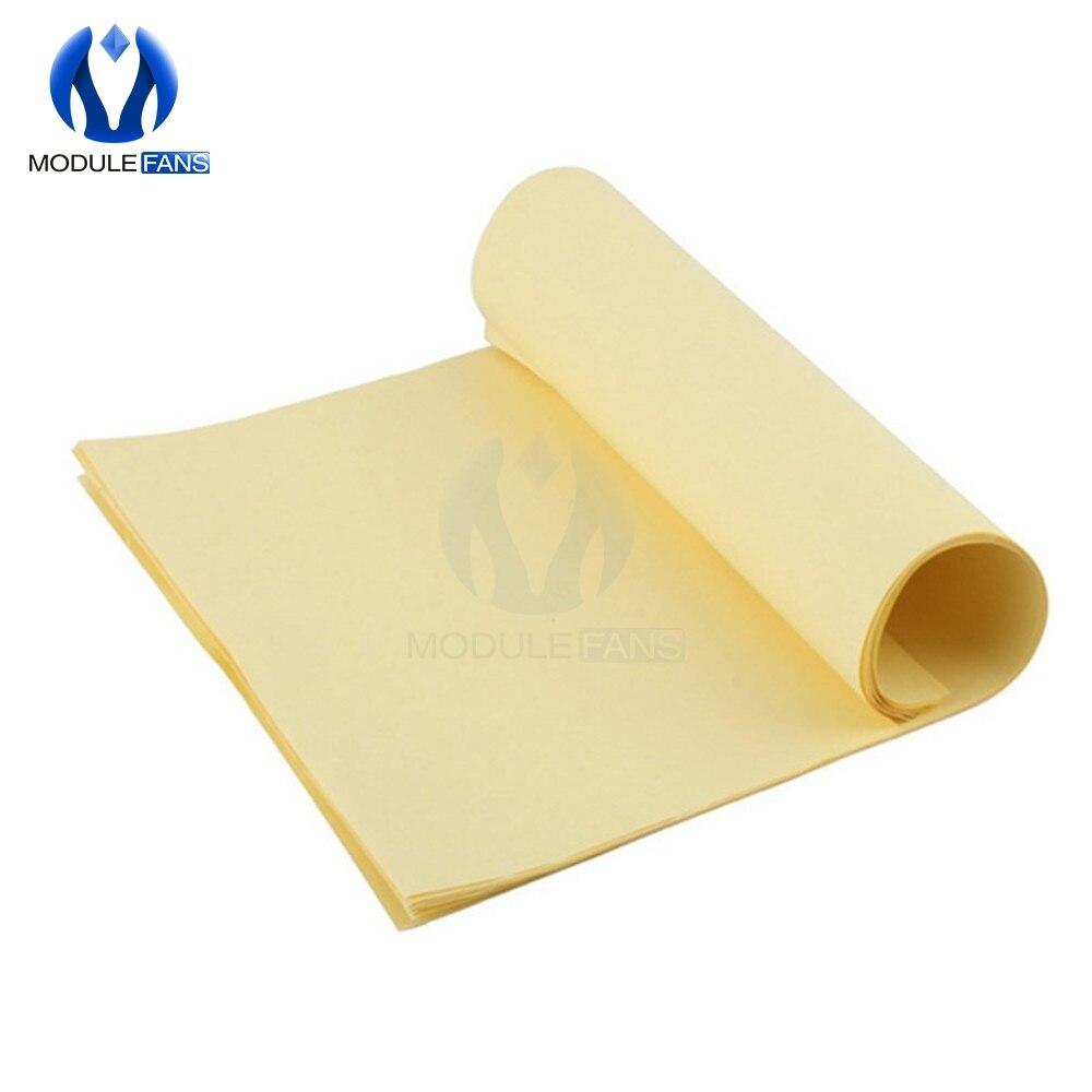 Papel de transferência térmica do toner de 10 pces a4 para a marca eletrônica do protótipo do pwb de diy|paper a4|paper diypaper pcb -