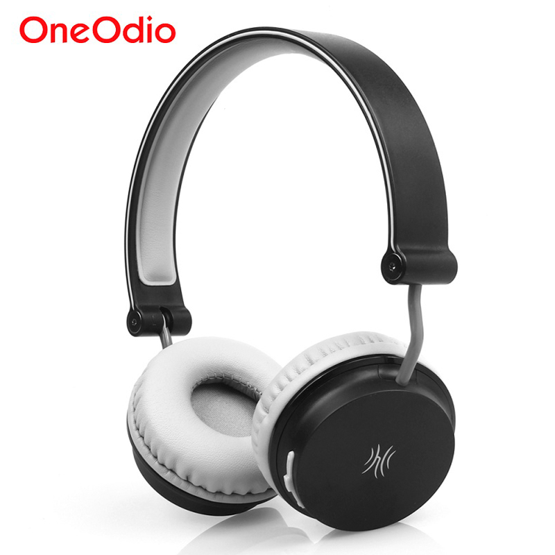 Oneodio Wireless Headphones Bluetooth 4.1 Headset Wired Lightweight Foldable On Ear Stereo Headphone Handsfree Earphone With Mic kz lp5 bluetooth earphone apt x wireless headphone wired bass headset portable foldable headphones 1 2m cable