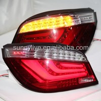 Для E60 520i 523i 525i 528i 530i светодиодные задние свет для BMW красный, белый JX