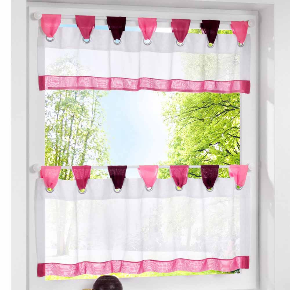Colorful Tap Top Blinds Half Curtains For Living Room Kitchen Curtains  Pastoral Coffee Window Screening Curtains In Curtains From Home U0026 Garden On  ...