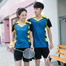 Женская/Мужская одежда для настольного тенниса, наборы для бадминтона, наборы для настольного тенниса, рубашка для бадминтона, шорты/юбка