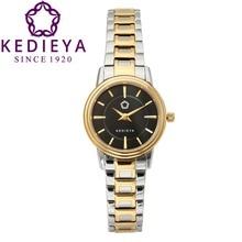 KEDIEYA Серебро Золото Из Нержавеющей Стали 50 М Водонепроницаемый Кварцевые Часы Дамы Женщин Платье Часы Подарки