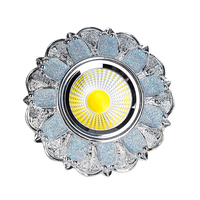 Modern European Down Lights LED Dimmable Recessed Downlights 5W 7W 110V 220V Spot Lamps Indoor Ceiling