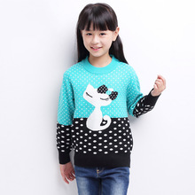 2018 Children Sweater Spring Autumn Girls Cardigan Kids Sweaters Girl Fashionable Style outerwear pullovers 4 6 8 10 14 Years kids sweater for girls sweaters spring autumn child clothes winter 2018 children sweater size 45 6 7 8 9 10 11 12 13 14 15 years