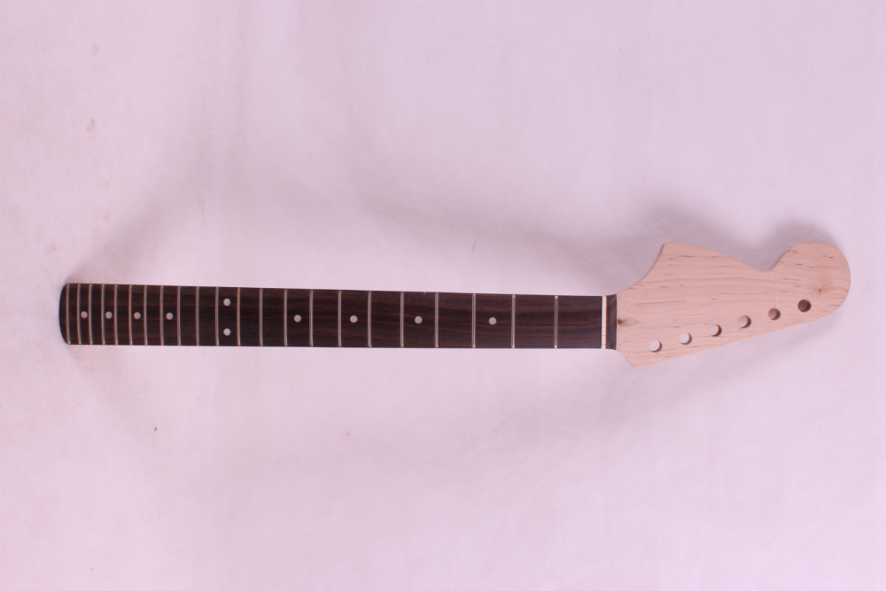 ФОТО New left  High Quality Unfinished electric guitar neck Solid wood Body &  fingerboard    model 1pcs #9