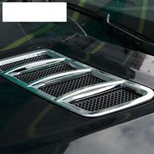 ABS Chrom Motor Dach Haube Aufkleber Trim Für Mercedes Benz ML GL GLE GLS Auto Zubehör 2013-2017