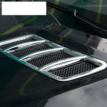 ABS Chrome Engine Крыша Худ Наклейку Накладка Для Mercedes Benz ML GL GLE GLS Автомобиль Аксессуар 2013-2017