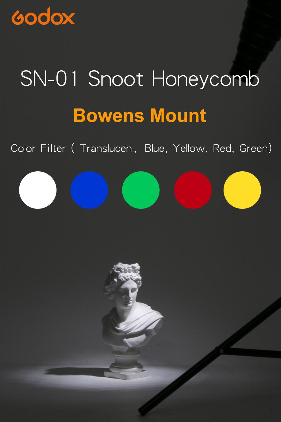 GODOX SN-01 Bowens large Snoot Studio Flash Accessories Professional Studio light Fittings1