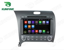Quad Core 1024*600  Android 5.1 Car DVD GPS Navigation Player for CERATO/K3/FORTE  2013 Radio steering wheel control Remote