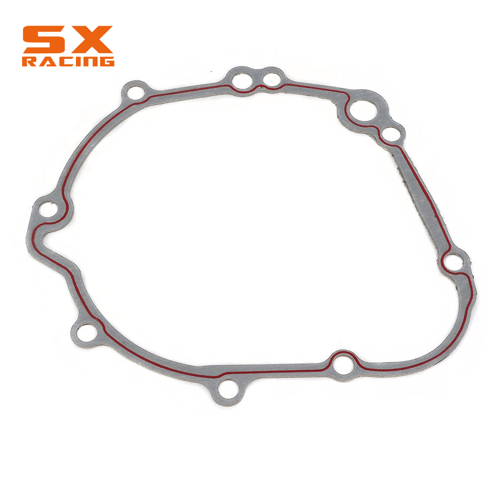 Motorcycle Gray Paper Engine Side Cover Gasket For SUZUKI GSXR600 GSXR750 <font><b>GSXR</b></font> <font><b>600</b></font> 750 2006 2007 2008 <font><b>2009</b></font> 2010 2011-2016 image