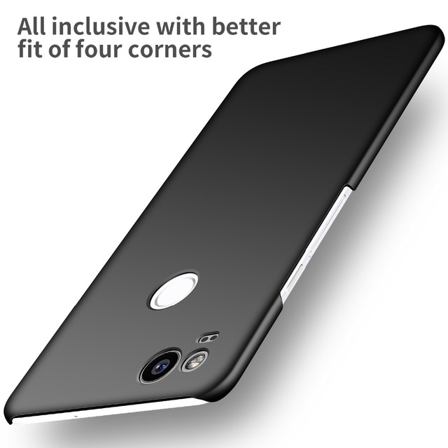 online store e2635 60d36 US $6.95 6% OFF|For Google Pixel 2 2XL Case Hard PC Slim Coque Matte Skin  Protective Back cover cases for Google Pixel 2 XL full cover shell-in  Fitted ...