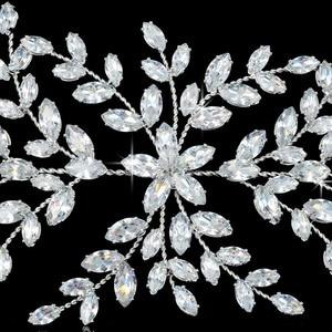 Image 5 - Hadiyana Fashion Bride Crown Wedding Tiaras With Zircon Women Hair Accessories Jewelry Headpiece Soft Luxury Barrettes BC4702