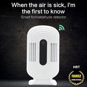 Image 4 - WIFI الذكية كاشف الغاز الفورمالديهايد الهواء جودة محلل HCHO TVOC CO2 ميزان الحرارة الرطوبة رصد ثاني أكسيد الكربون
