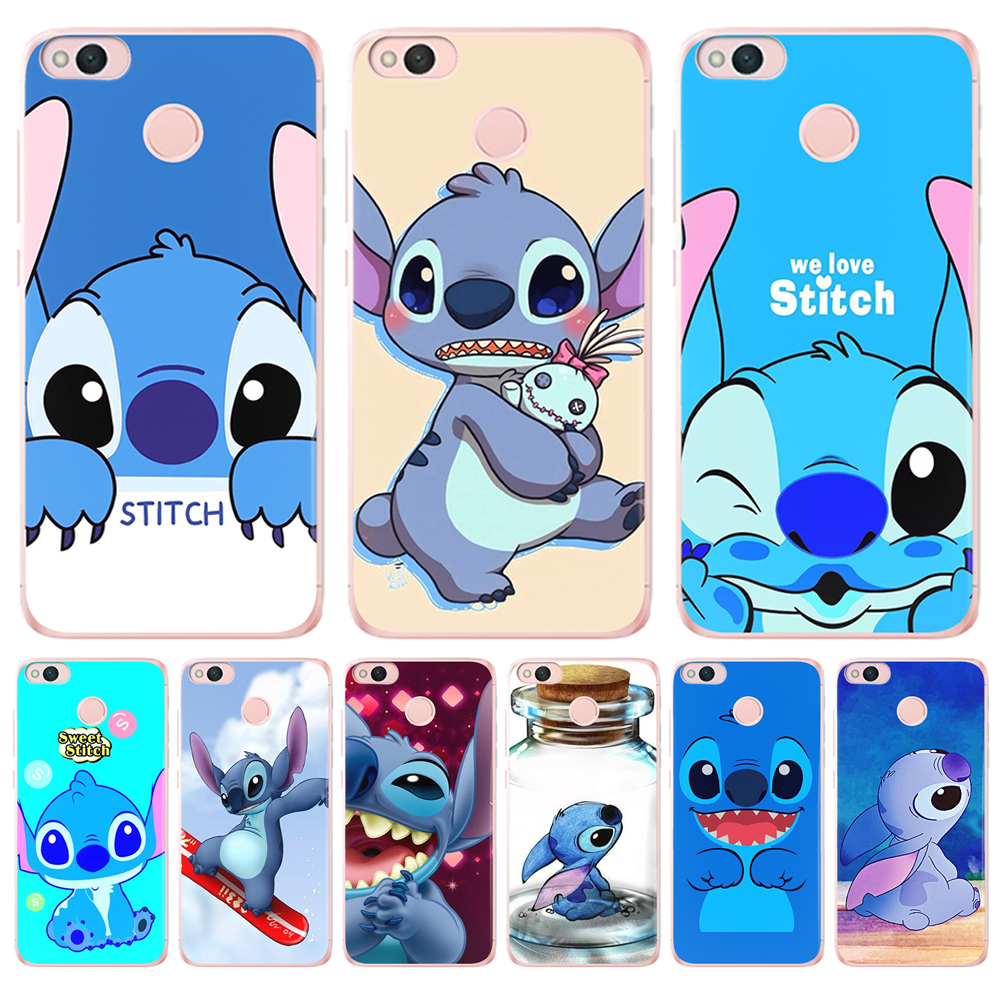 419795cd1b4728 Stitch phone Case Cover For Coque Xiaomi Mi A1 5X 6 A2 6X Lite 8 Pocophone