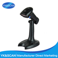2D/QR/1D Hands-Free Image Barcode Scanner with stand M3+ Fast speed barcode scanner with RS232 POS Free shipping