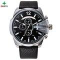 Reloj de la marca de lujo relogio masculino north ejército militar reloj de pulsera de cuarzo de los hombres reloj de hombre de acero inoxidable de los hombres relojes deportivos