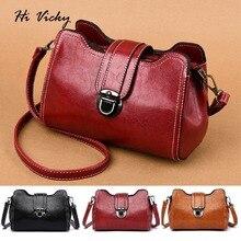 купить Bags Women Messenger Bag 2019 Crossbody Bags PU Leather Small Satchels Vintage Shoulder Bags Handbags Women Cover Bolsa Feminina по цене 1236.84 рублей