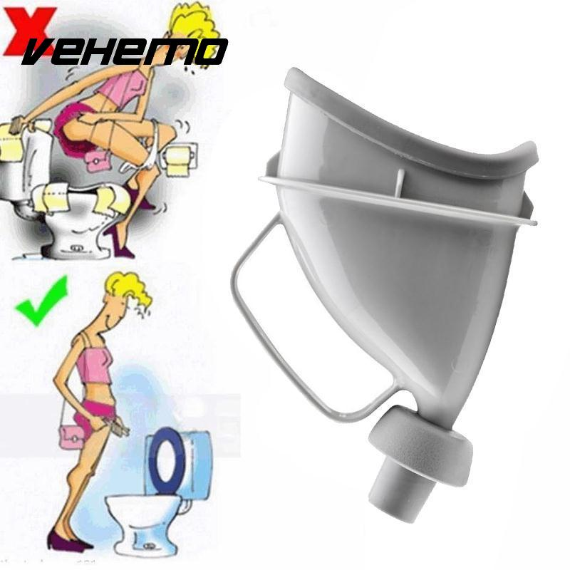 2018 Unisex Portable Mobile Urinal Funnel Camping Outdoor Car Travel Handle Urine Bottle Urination Device Stand Up & Pee Toilet