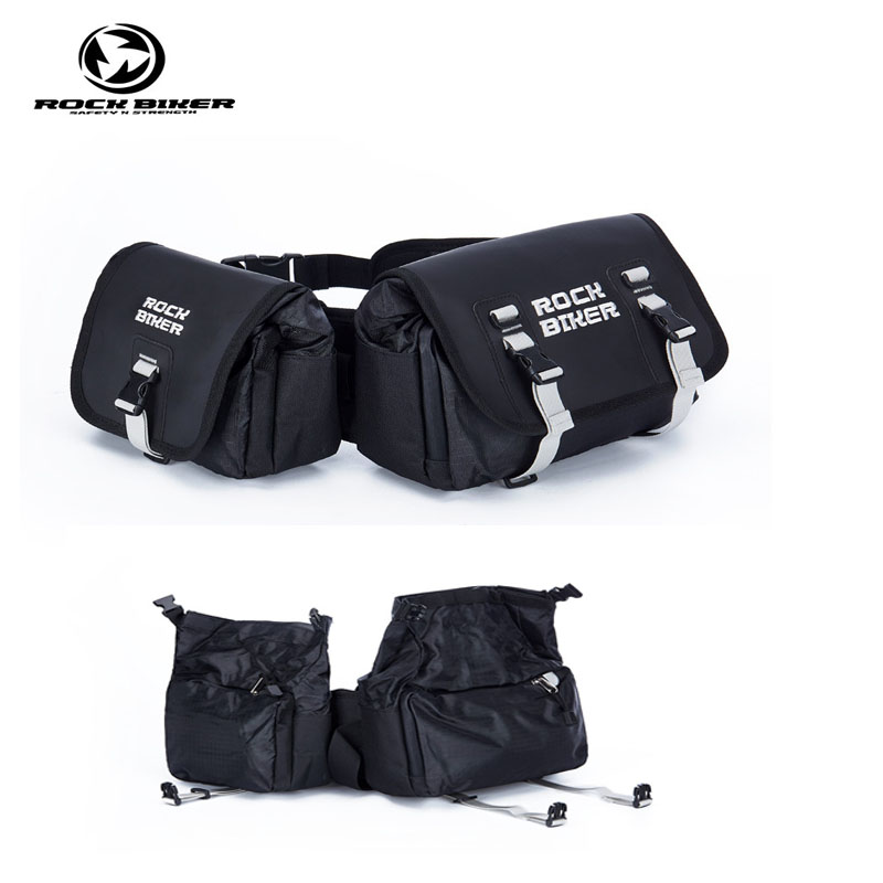 ROCK BIKER Motorcycle Twin Pack saddle bag motocross waterproof tank alforjas para moto off road motorbike