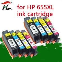 8Pack compatible printer ink cartridges for hp655 cartridge hp Deskjet Ink Advantage 3525 4615 4625 5525 6520 6525