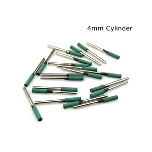 Image 3 - 10 pcs Rubber Mounted Point Grinding Head for Mould Polishing Dremel Rotary Tools