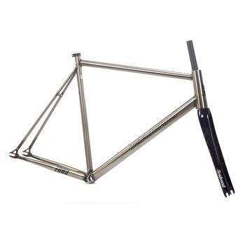 Seaboard Tsunami Cromolly Fixed Gear Frameset Frame Carbon Fork Custom Chrome Cr-mo Steel Fixie Track Bike Frameset Super