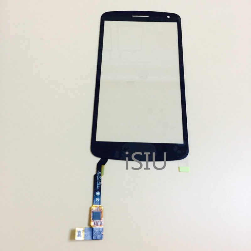 5.0 ''شاشة إل سي دي باللمس الشاشة ل LG K5 X220 X220DS لمس لوحة الجبهة زجاج عدسة الاستشعار قطع غيار محول رقمي قطع الغيار