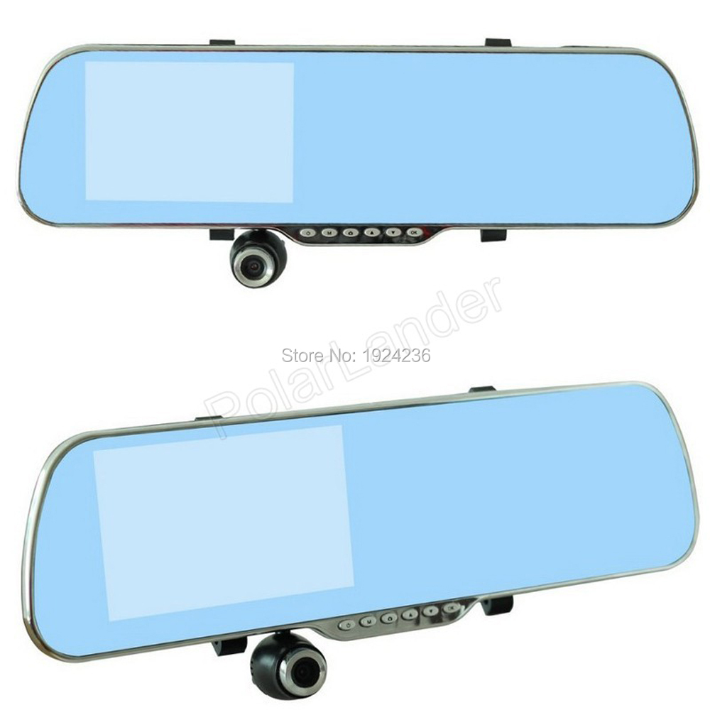 Hot Sale Car Rearview Mirror camera 5 Touch Android GPS WiFi FM Parking Rearview Mirror HD Dash Cam Dual Camera DVR
