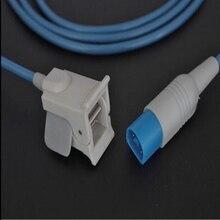 Совместимость для Philips/hp M1941A 8PIN наружного дефибриллятора(Анд Fingerclip Spo2 Сенсор импульсный датчик-оксиметр MP20/Вт, 30 Вт, 40 кислорода Сенсор 3 м/9ft