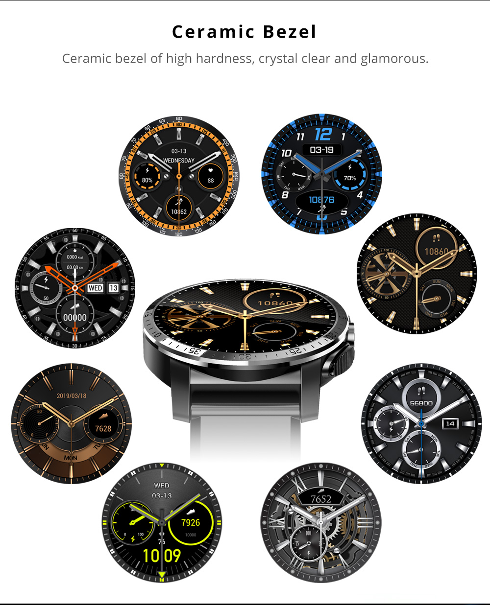 Makibes M3 4G Smart Watch 11