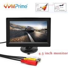 """AMPrime 4.3 """"monitor Dell'automobile TFT LCD Car Rear View Monitor di Sistema di Parcheggio di Rearview per Inversione di Sostegno Della Macchina Fotografica di Sostegno VCD DVD Auto TV"""