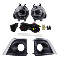 Halogen Lamp Fog Light Assembly For TOYOTA COROLLA 2014 Fog Lights Sets ABS 4300K Yellow 12V 55W Front Plating Cover Styling