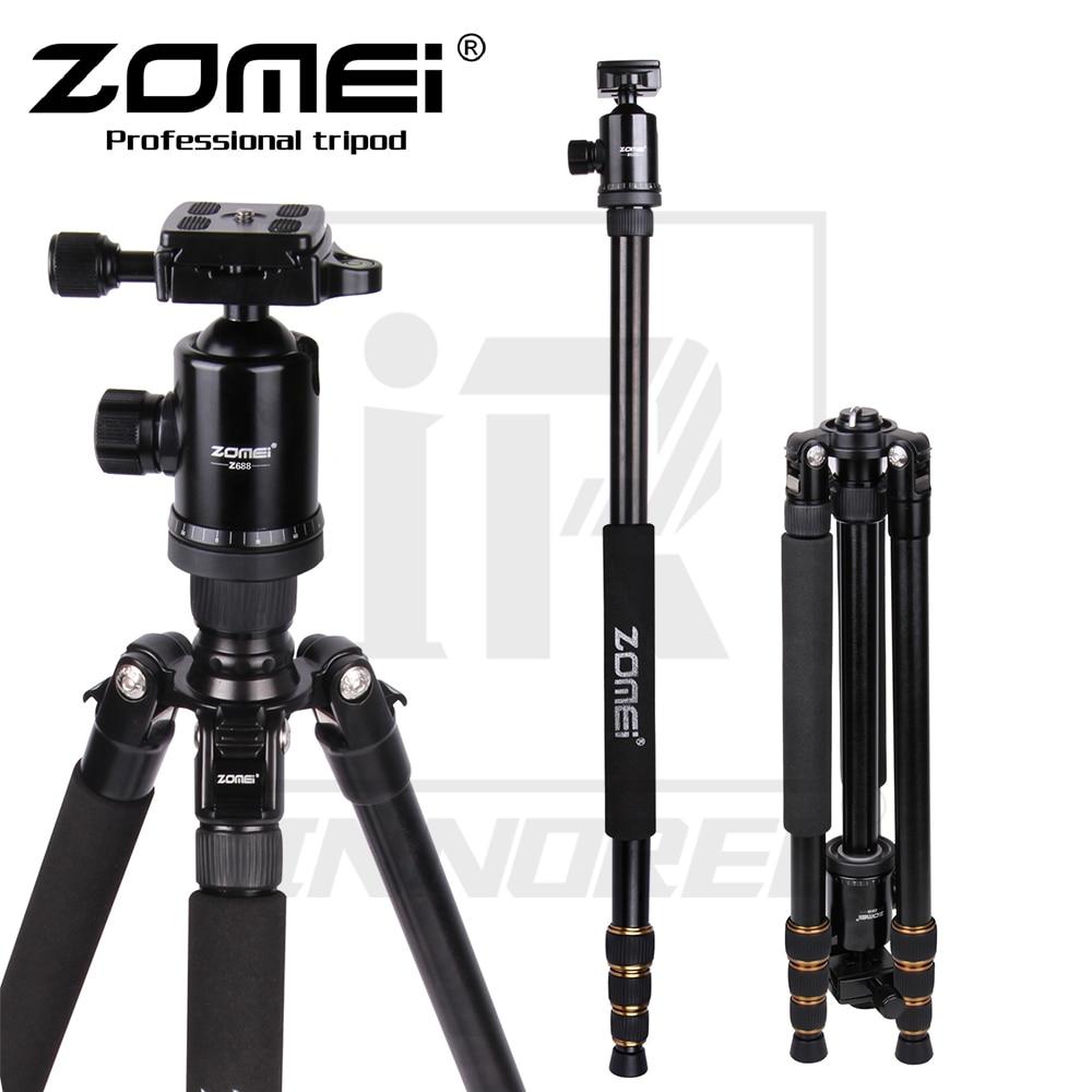 Zomei Z688 Professionnel alliage d'aluminium ensemble pour trépied Manfrotto Pour DSLR Caméra Lumière Compact support portatif Mieux que Q666