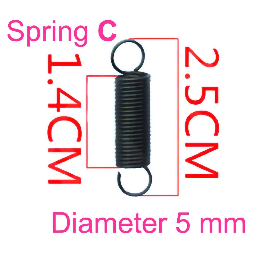 2 Teile/los Universal Mikrowelle Tür Haken Zugfeder C Ersatz Mikrowelle Teile Hohe Qualität Neue 100%