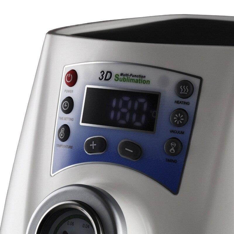 Vácuo Máquina Da Imprensa do Calor 3D MINI Caso de Telefone Impressora Imprensa do Calor de Sublimação para Canecas foto ou imagem profissional 110v /220v