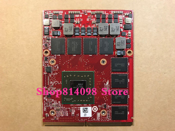 KEFU CN-0K5WCN K5WCN M6100 HD8950 2G Graphics VGA Video Card FIT For Dell Precision M6600 PC 216-0843006