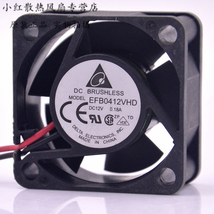 AVCV efb0412vhd 40mm <font><b>4020</b></font> DC <font><b>12v</b></font> 0.18a 4cm server inverter computer cpu axial blower cooling fans image