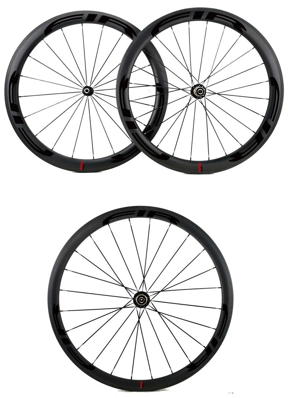 25mm Road bike wheels black-01111