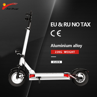 48V 500W 10 inch Powerful eEectric Scooter 2 Wheel Adult Unisex Foldable motor Scooter Electrico Kateboard Electric kick Scooter